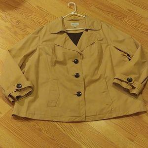 Merona lightweight jacket size 4xl